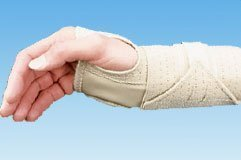 The Amazing Core Products 6880 Ambidextrous Cock-Up Wrist Splint-Large by Core
