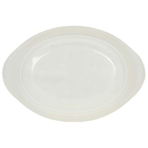 Corningware Clear Plastic Lid for Oval 1.5 Quart Dish with Flared Handles ()