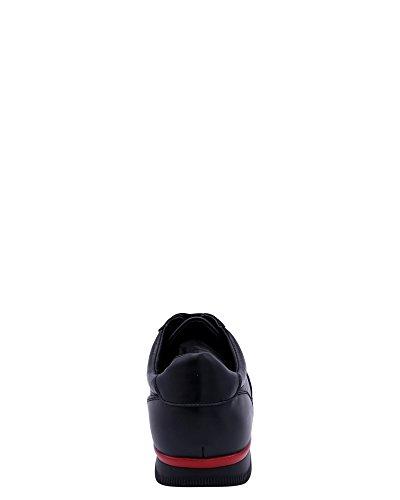 Beverly Hills Polo Club Uomo Murano Sneaker Nero / Rosso