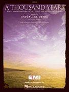 Christina Perri - A Thousand Years - Easy Piano Sheet Music (Violin Music Sheet For A Thousand Years)