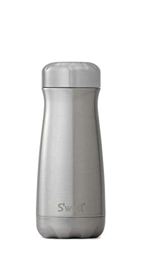 S'well Stainless Steel Travel Mug, 16 oz, Silver Lining