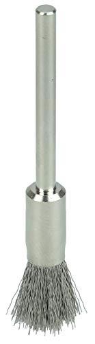 0.03 Brass Fill 1//8 Stem 3//16 0.03 Brass Fill 1//8 Stem Weiler Corporation Weiler 26097 Miniature Wire End Brush Pack of 144 Pack of 144 3//16
