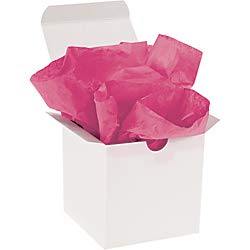 Office Depot Brand Gift-Grade Tissue Paper, 15in x 20in, Cerise, Pack of 960 by Office Depot