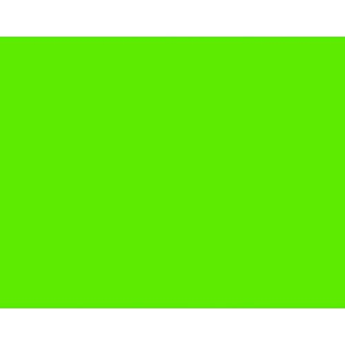 "BAZIC  22"" X 28"" Fluorescent Green Poster Board (Case of 25)"