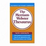 Merriam Webster 850 Paperback Thesaurus Dictionary Compan...