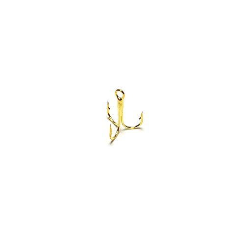 Gold Treble Hooks - #16 - 100-count (Gold Treble Hooks)