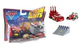 Mattel-Disney Pixar Cars 2 Action Agents Francesco Bernoulli & Lightning Mcqueen Veh