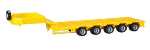 1/87 ゴールドフォッファー 低床トレーラー用荷台 5軸 イエロー 076388-003