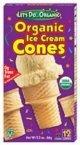 Let'S Do.Organics Organic Ice Cream Cones (12x2.3 OZ)