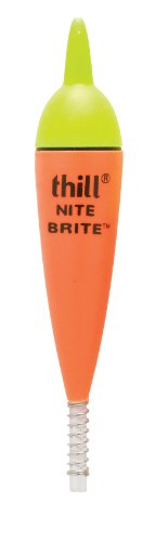 - Thill Nite Brite Lighted Floats - Green - 5 in