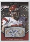 Sam Baker (Football Card) 2008 SAGE - Autographs - Red #A4