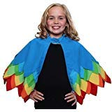 Kids Unisex Parrot, Toucan or Bird of Paradise Style Cape with Wings]()
