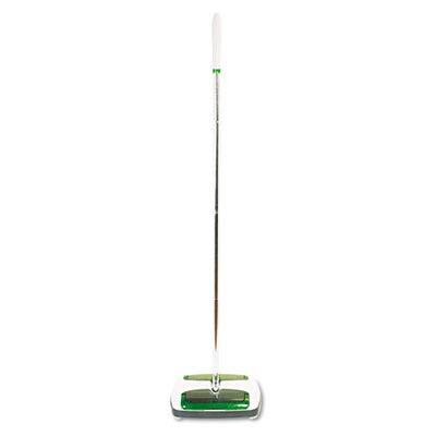 Scotch-Brite M007CCW Quick Floor Sweeper, Rubber Bristles, 42'' Aluminum Handle, White by Scotch-Brite
