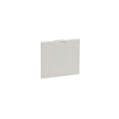 Schneider Electric 03908 SUPPORT 96X96 MET.DEV/PB FOR 03911/03913, White