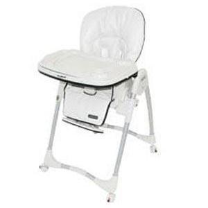 Amazon.com: Bebé Trend alta silla en polipiel de color ...