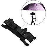Selens Camera Umbrella Holder Clip Clamp Bracket Support for Tripod