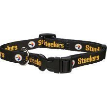 Pittsburgh Steelers Small Pet Dog Collar (Small)