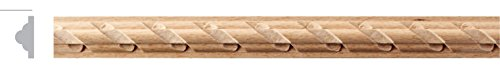 GW835 Carved Wood Molding in Beech (10 pcs total of 80 ft) by Campbell Moulding -