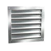 Ll Building Products DA1824 Aluminum Dual Louvers, 18 x 24 -