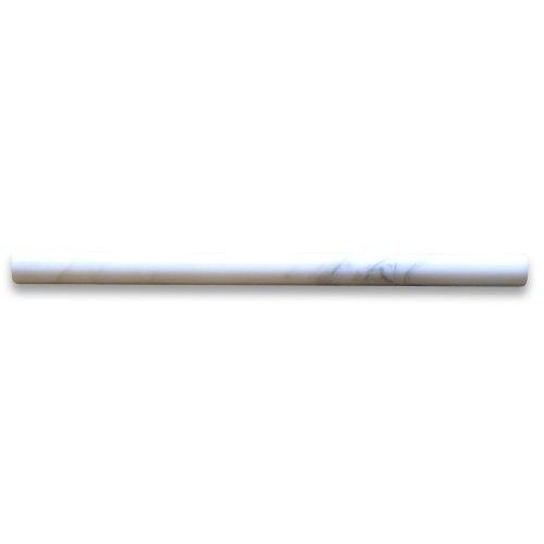 Pencil Molding - Calacatta Gold Italian Calcutta Marble Pencil Liner Trim Molding 3/4 x 12 Polished