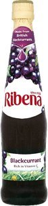 Ribena Original Blackcurrant Drink, 600 ml Bottles (Pack of 4)