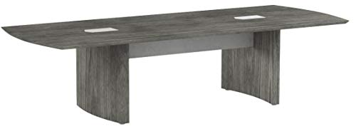 Safco Products MNC10LGS Medina Table 10' Gray Steel by Safco Products (Image #4)