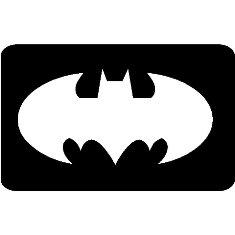 Desconocido 100 x Batman glitter tattoo temporary ink stencils ...