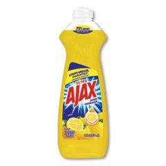 (Ajax 44668 Dish Detergent Lemon Scent 12.6 oz Bottle 20/Carton )