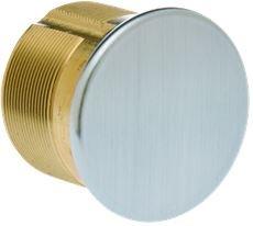KABA ILCO 7180DC-26D 1-1/8 inch Dummy Mortise Cylinder Satin Chrome - (Mortise Dummy Cylinder)