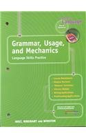 Grammar, Usage, and Mechanics: Elements of Language, 1st Course