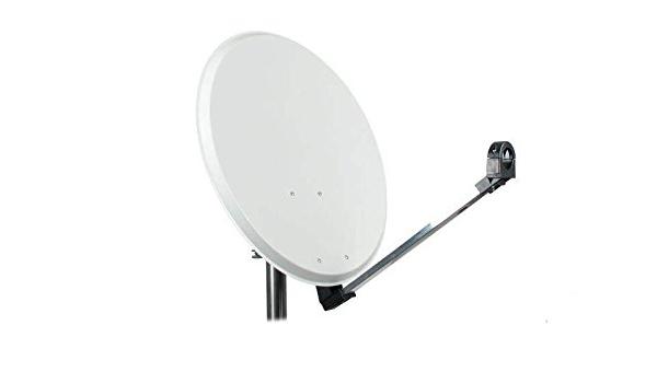 Antena parabólica de Aluminio 125 cm: Amazon.es: Electrónica