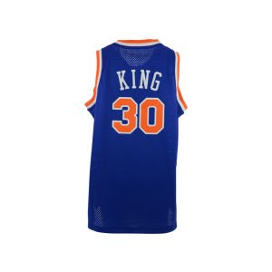 New York Knicks #30 Bernard King NBA Soul Swingman Jersey, Blue, Size: Small