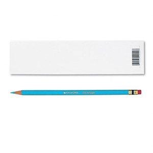 (Prismacolor Col-Erase Erasable Colored Pencil LIGHT BLUE Set/12)