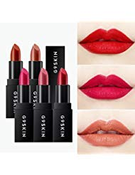 Marilyn Monroe Red Lipstick - [G9SKIN] First Lipstick 3.5g / Long Lasting Lip Colors (5 Vintage Red)