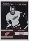 Gordie Howe #/250 (Hockey Card) 2012-13 Panini Certified - Certified Icons ()