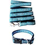 - Pets First Seattle Mariners Nylon Collar and Matching Leash for Pets (MLB Official Size Large