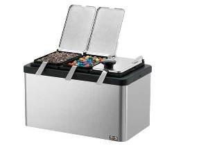 Server Insulated Bar W/2 1/9-size Jars, Lids & Ladles, Mb-2 87470 - 87470