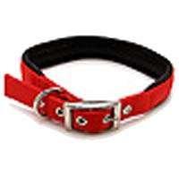 ASPEN PET PRODUCTS 15506 Nylon Adjustable Dog Collar, 5/8 by 18-Inch, Red Aspen Pet Adjustable Dog Collar