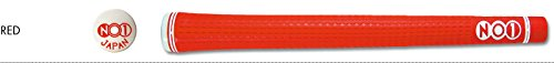 NO1 Grip 48 Series Round Golf Grip, Red, Standard