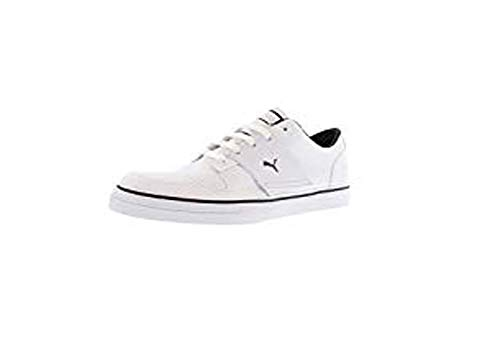 PUMA Men's El Ace 2B Sneakers, White, 11 M US (Puma Shoes El Rey)