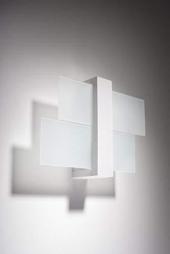 Sollux Lighting FENIKS 1 colore Lampada da parete in legno Bianco
