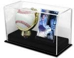 Holder Baseball Glove (BCW 1 GOLD GLOVE BALL & CARD HOLDER ACRYLIC)