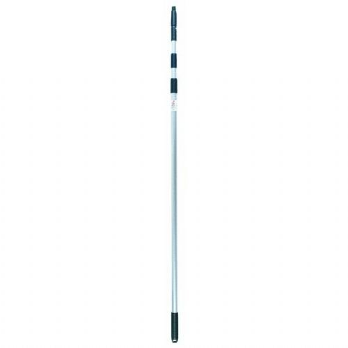 Unger Aluminum Telescopic Pole with Removable Cone and Universal Thread, 11' (Set Washer Telescoping)