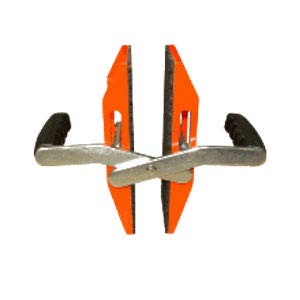 Abaco ACC40 Double Handed Glass or Stone Carrying Clamp - Pair Abaco ACC40 Double Handed Glass or Stone Carrying Clamp - Pair