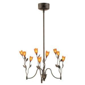 Portfolio Platinum 9 Light Tulip Chandelier