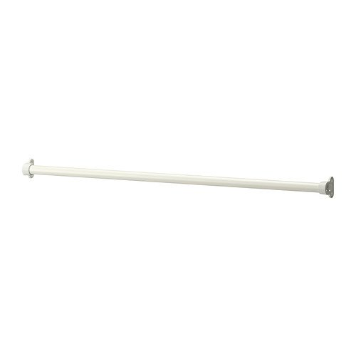 Ikea KOMPLEMENT - Clothes rail, white - 100 cm