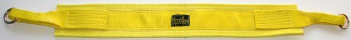 Spud Belt Squat Yellow Belt for Weight Lifting Strength Training and Power Lifting