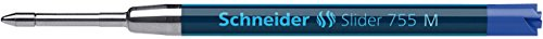 Schneider Schreibgeräte Kugelschreibermine Slider 755, dokumentenecht, M, blau