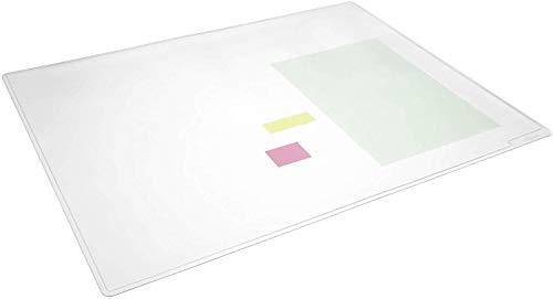 Durable Schreibunterlage Duraglas, transparent (530 x 400mm | 5er Pack)