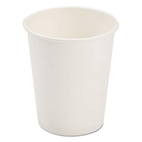 Paper Dopaco White - Dopaco Dopaco Paper Hot Cups, 8 oz, White - DOPD8HCW